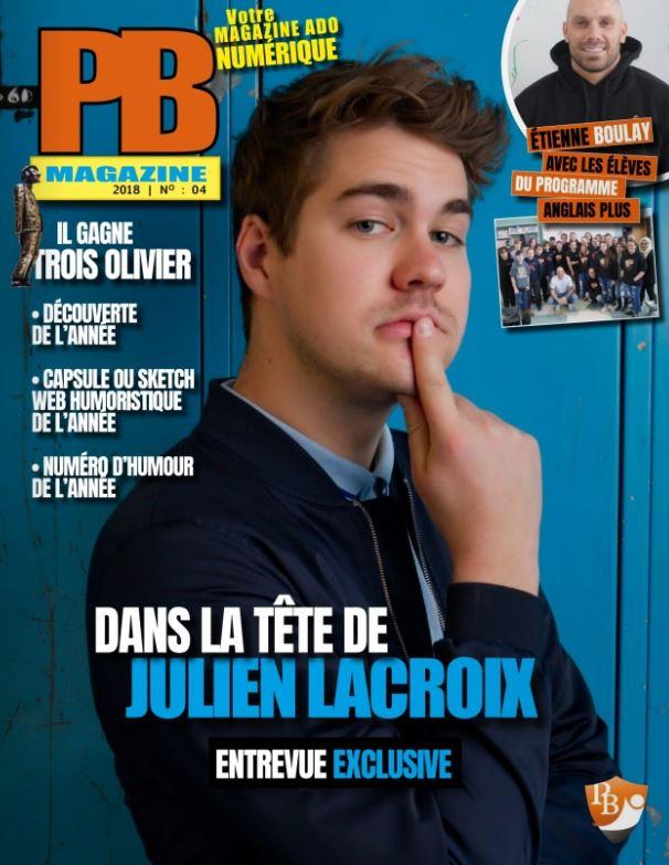 Cover du PB Magazine 2018